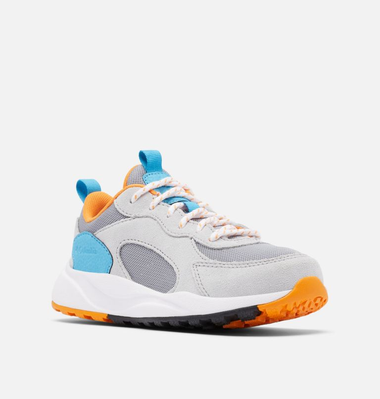 YOUTH PIVOT™ | 088 | 5 Youth Pivot™ sneaker, Steam, Flame Orange, 3/4 front