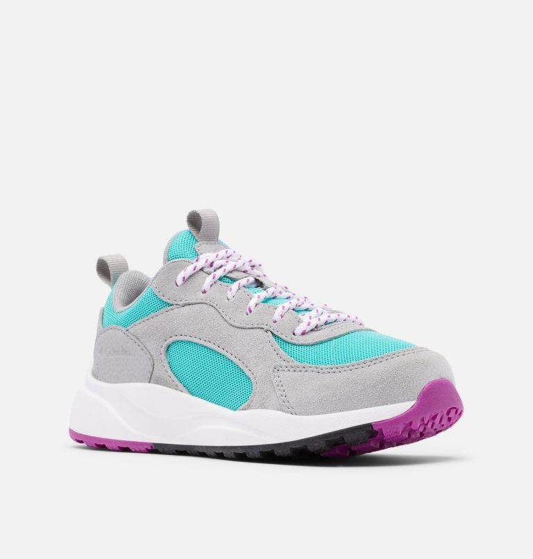 YOUTH PIVOT™ | 356 | 4.5 Youth Pivot™ sneaker, Dolphin, Bright Plum, 3/4 front