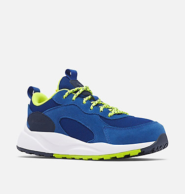 Big Kids' Pivot™ Shoe YOUTH PIVOT™ | 010 | 1, Royal, Acid Green, 3/4 front