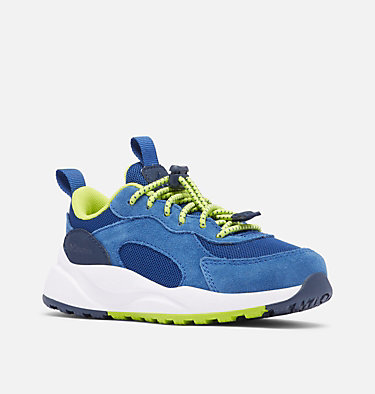 Little Kids' Pivot™ Shoe CHILDRENS PIVOT™ | 421 | 8, Royal, Acid Green, 3/4 front