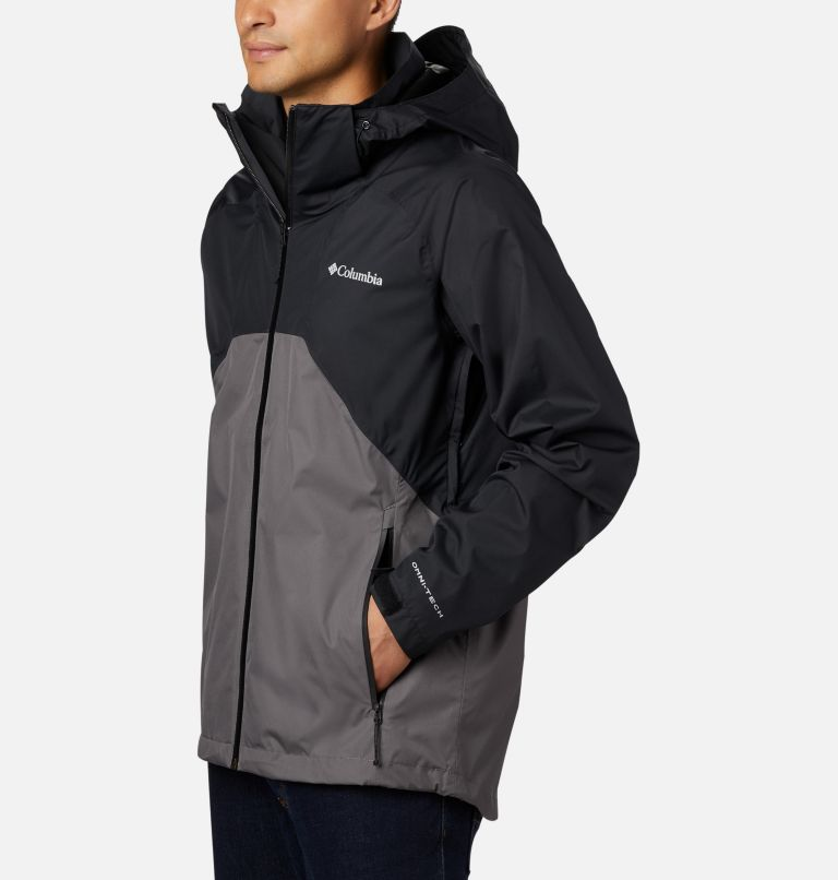 Rain Scape™ Jacket | 010 | M Men's Rain Scape™ Jacket, Black, City Grey, a1
