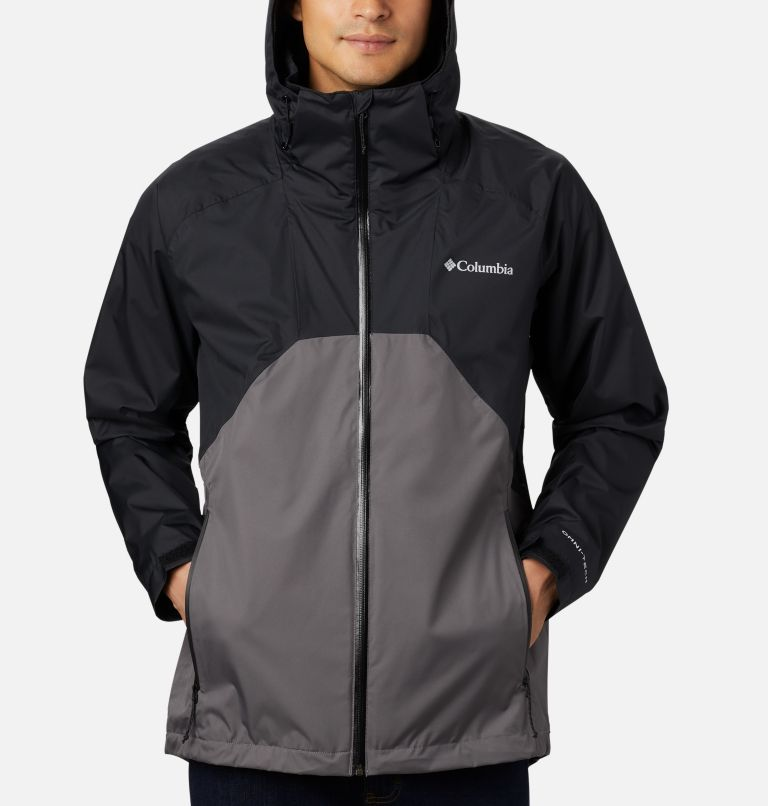 Rain Scape™ Jacket | 010 | M Men's Rain Scape™ Jacket, Black, City Grey, a2