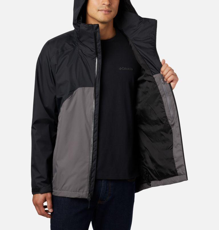 Rain Scape™ Jacket | 010 | M Men's Rain Scape™ Jacket, Black, City Grey, a3