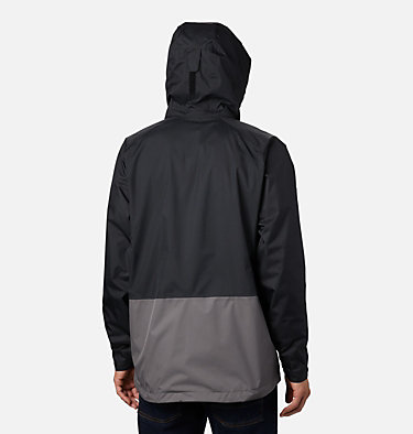 Men's Rain Scape™ Jacket Rain Scape™ Jacket | 370 | S, Black, City Grey, back
