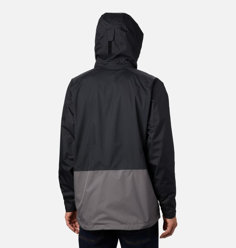 Rain Scape™ Jacket | 010 | M Men's Rain Scape™ Jacket, Black, City Grey, back