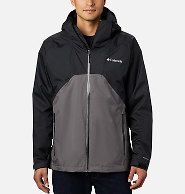 Men's Rain Scape™ Jacket Rain Scape™ Jacket | 370 | S, Black, City Grey, front