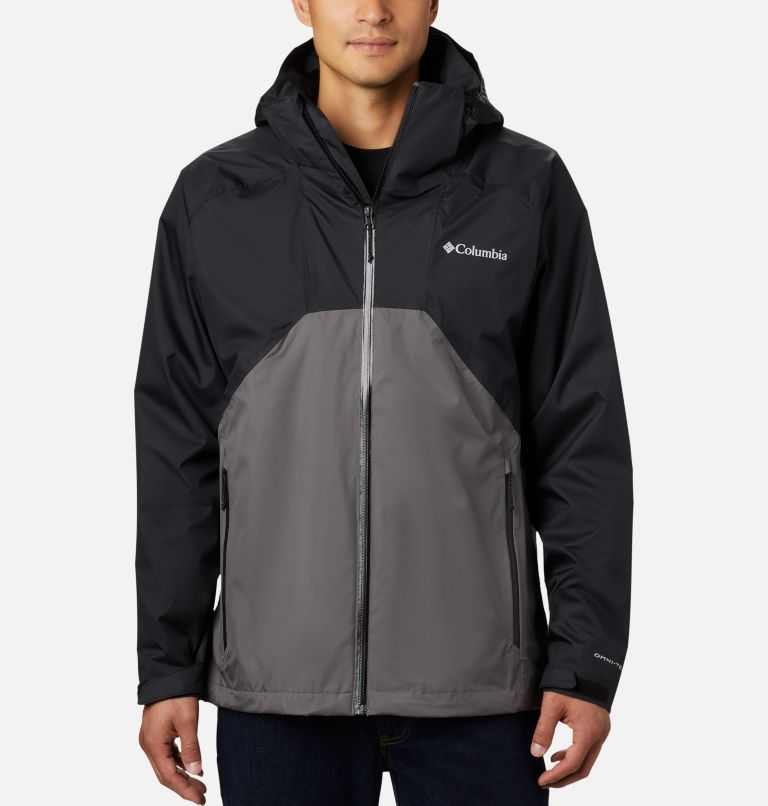 Rain Scape™ Jacket | 010 | M Men's Rain Scape™ Jacket, Black, City Grey, front