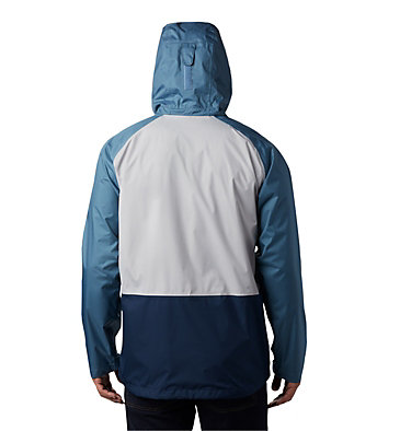 Men's Rain Scape™ Jacket Rain Scape™ Jacket | 010 | L, Columbia Grey, Mountain, Collegiate Navy, back
