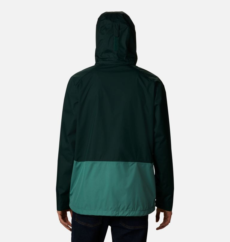 Rain Scape™ Jacket | 370 | XXL Men's Rain Scape™ Jacket, Spruce, Thyme Green, back
