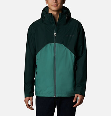 Men's Rain Scape™ Jacket Rain Scape™ Jacket | 370 | S, Spruce, Thyme Green, front