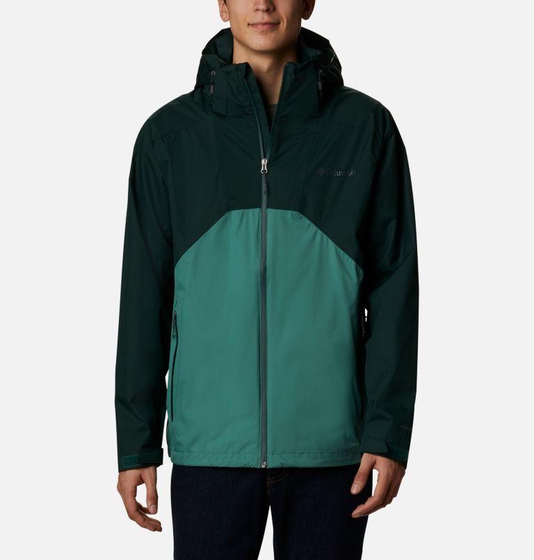 Rain Scape™ Jacket   370   XL Men's Rain Scape™ Jacket, Spruce, Thyme Green, front