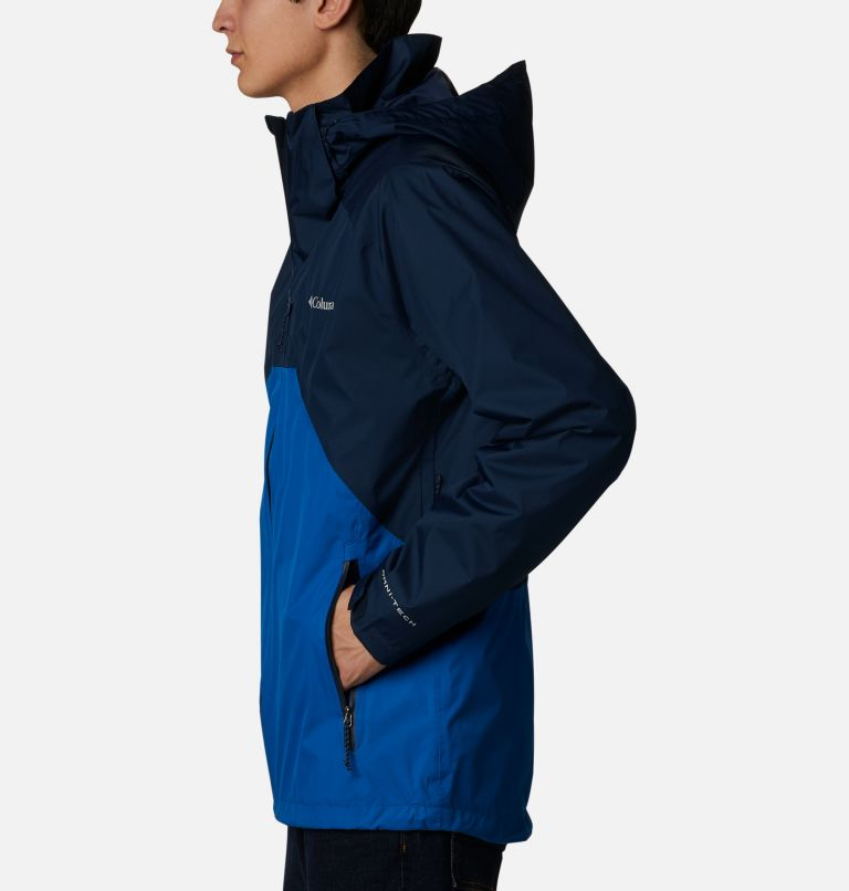 Rain Scape™ Jacket | 465 | L Men's Rain Scape™ Jacket, Collegiate Navy, Bright Indigo, a1