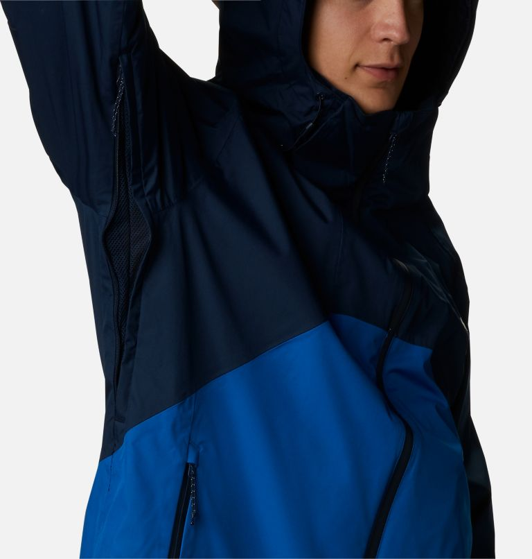 Rain Scape™ Jacket | 465 | L Men's Rain Scape™ Jacket, Collegiate Navy, Bright Indigo, a4