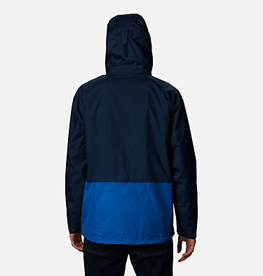 Men's Rain Scape™ Jacket Rain Scape™ Jacket | 370 | S, Collegiate Navy, Bright Indigo, back