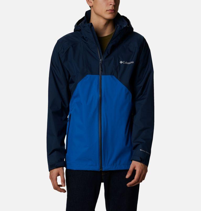 Rain Scape™ Jacket | 465 | L Men's Rain Scape™ Jacket, Collegiate Navy, Bright Indigo, front
