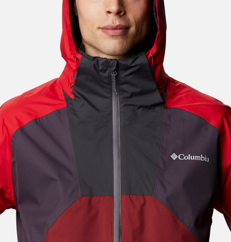 Rain Scape™ Jacket | 511 | XL Men's Rain Scape™ Jacket, Dark Purple, Mtn Red, Red Jasper, Shark, a2
