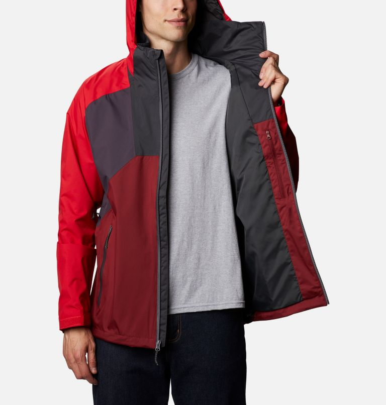 Rain Scape™ Jacket | 511 | XXL Men's Rain Scape™ Jacket, Dark Purple, Mtn Red, Red Jasper, Shark, a3