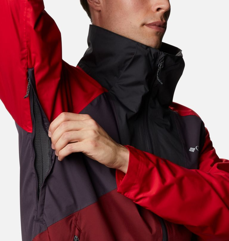 Rain Scape™ Jacket | 511 | XL Men's Rain Scape™ Jacket, Dark Purple, Mtn Red, Red Jasper, Shark, a4