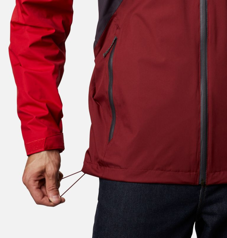 Rain Scape™ Jacket | 511 | XXL Men's Rain Scape™ Jacket, Dark Purple, Mtn Red, Red Jasper, Shark, a7
