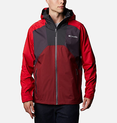 Men's Rain Scape™ Jacket Rain Scape™ Jacket | 511 | XL, Dark Purple, Mtn Red, Red Jasper, Shark, front