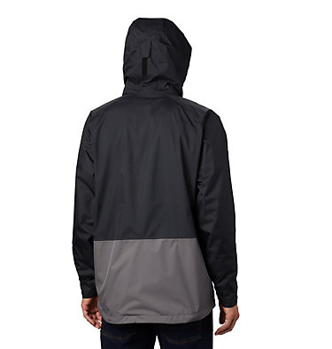 Men's Rain Scape™ Jacket – Extended Size Rain Scape™ Jacket | 010 | 1X, Black, City Grey, back