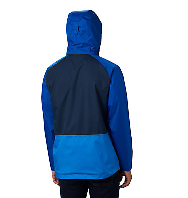 Men's Rain Scape™ Jacket - Big Rain Scape™ Jacket | 464 | 1X, Collegiate Navy, Azul, Azure Blue, back