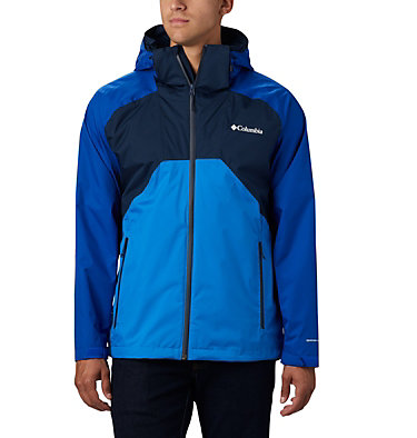 Men's Rain Scape™ Jacket - Big Rain Scape™ Jacket | 464 | 1X, Collegiate Navy, Azul, Azure Blue, front