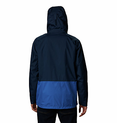 Men's Rain Scape™ Jacket – Extended Size Rain Scape™ Jacket | 010 | 1X, Collegiate Navy, Bright Indigo, back