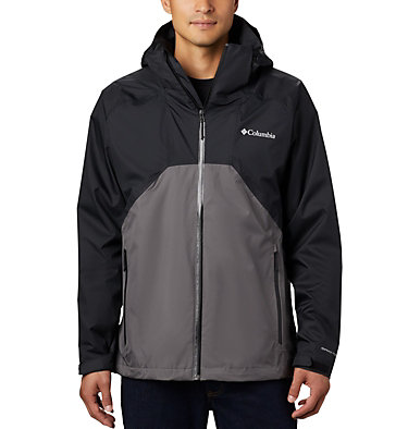 Men's Rain Scape™ Jacket Rain Scape™ Jacket | 010 | L, Black, City Grey, front