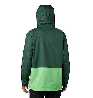 Men's Rain Scape™ Jacket Rain Scape™ Jacket | 010 | L, Rain Forest, Green Boa, back