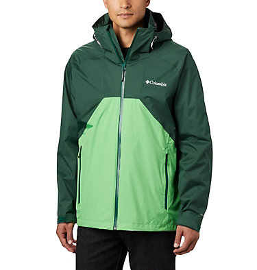 Men's Rain Scape™ Jacket Rain Scape™ Jacket | 010 | L, Rain Forest, Green Boa, front
