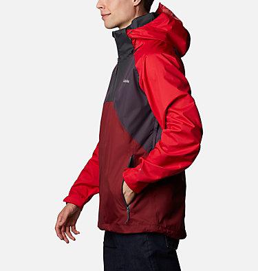 Veste Rain Scape™ Homme Rain Scape™ Jacket | 010 | L, Dark Purple, Mtn Red, Red Jasper, Shark, front