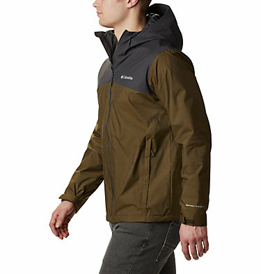 Men's Ridge Gates™ Jacket – Extended Size Ridge Gates™ Jacket | 010 | 1X, Olive Green Slub, Shark, a1