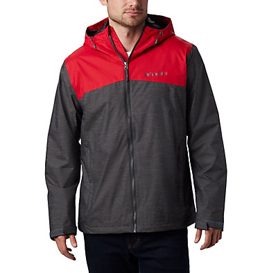 Veste Ridge Gates™ Homme Ridge Gates™ Jacket | 010 | S, Shark Slub, Mountain Red, front