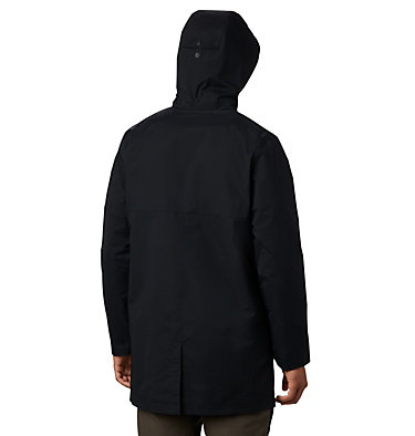 Men's East Park™ Mackintosh Jacket East Park™ Mackintosh Jacket | 010 | L, Black, back