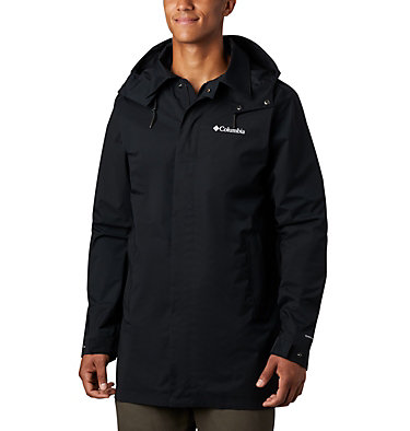 Men's East Park™ Mackintosh Jacket East Park™ Mackintosh Jacket | 010 | L, Black, front