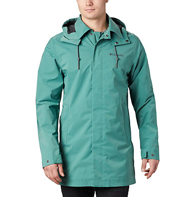 Men's East Park™ Mackintosh Jacket East Park™ Mackintosh Jacket | 010 | L, Thyme Green, front