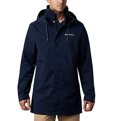 Men's East Park™ Mackintosh Jacket East Park™ Mackintosh Jacket | 010 | L, Collegiate Navy, front
