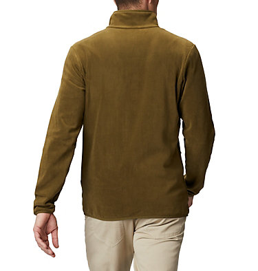Men's Exploration™ Full Zip Fleece Exploration™ FZ Fleece | 010 | L, New Olive, Shark, back