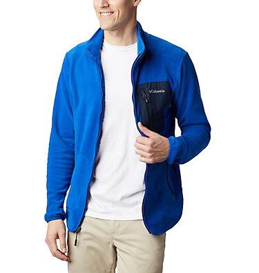 Men's Exploration™ Full Zip Fleece Exploration™ FZ Fleece | 010 | L, Azul, Collegiate Navy, front