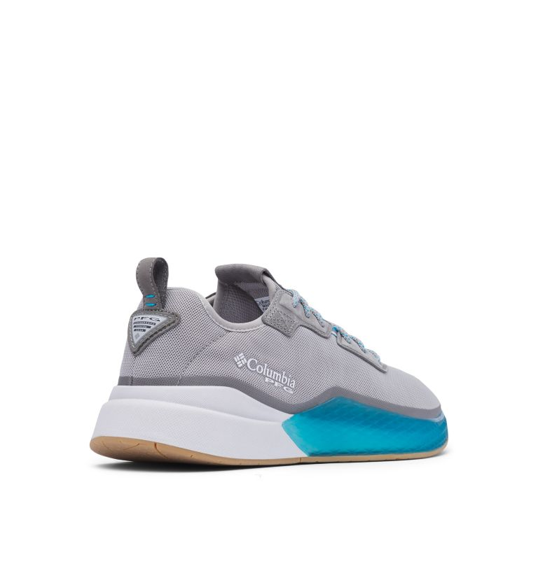 LOW DRAG™ PFG   081   10.5 Men's PFG Low Drag™ Shoe, Dove, Blue Chill, 3/4 back
