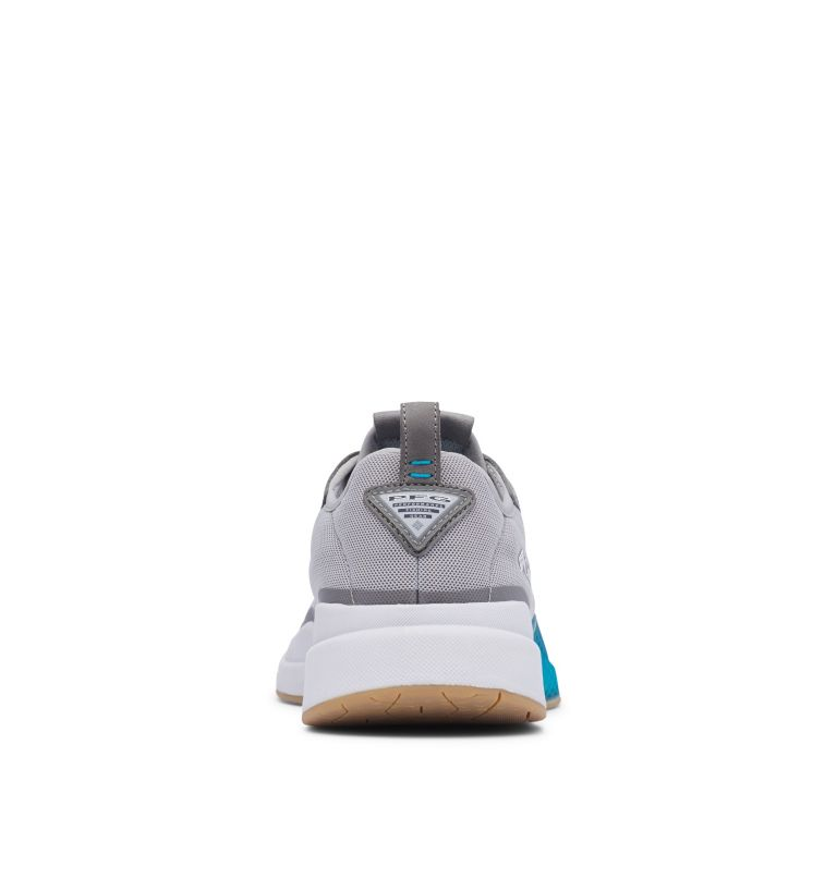 LOW DRAG™ PFG   081   8 Men's PFG Low Drag™ Shoe, Dove, Blue Chill, back