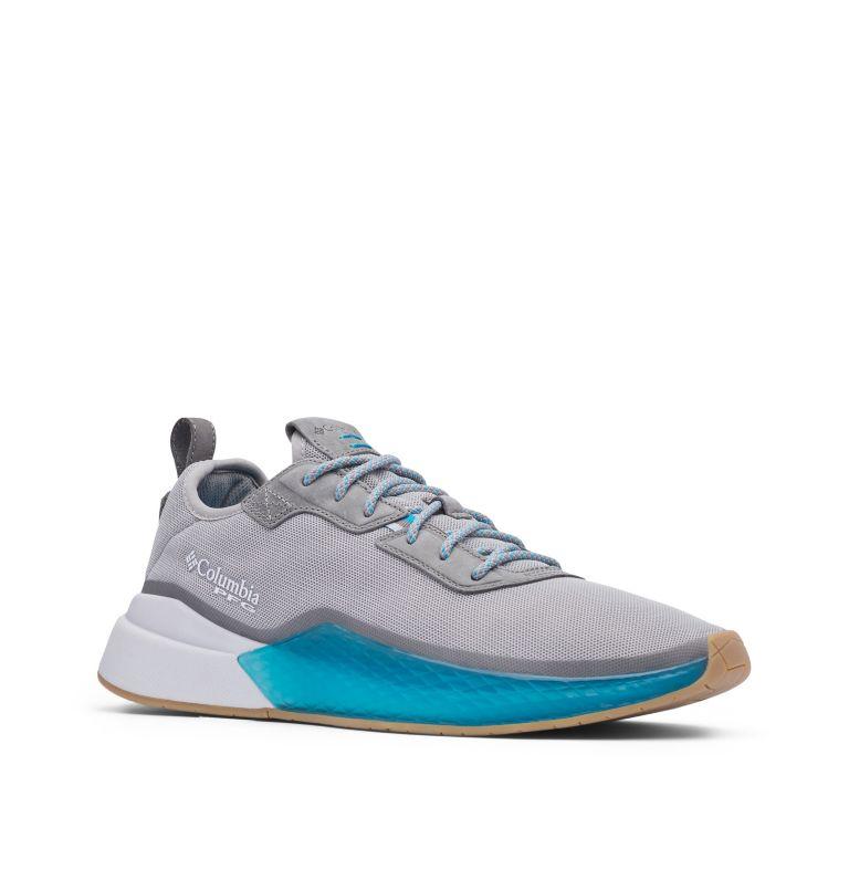 LOW DRAG™ PFG   081   10.5 Men's PFG Low Drag™ Shoe, Dove, Blue Chill, 3/4 front