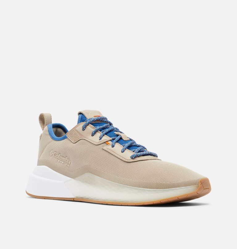 LOW DRAG™ PFG | 271 | 11.5 Men's PFG Low Drag™ Shoe, Ancient Fossil, Bright Indigo, 3/4 front