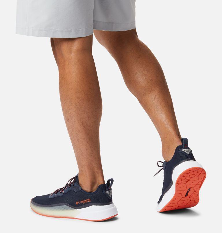 LOW DRAG™ PFG | 464 | 17 Men's PFG Low Drag™ Shoe, Collegiate Navy, Tangy Orange, a9