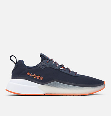 Men's PFG Low Drag™ Shoe LOW DRAG™ PFG | 464 | 10, Collegiate Navy, Tangy Orange, front