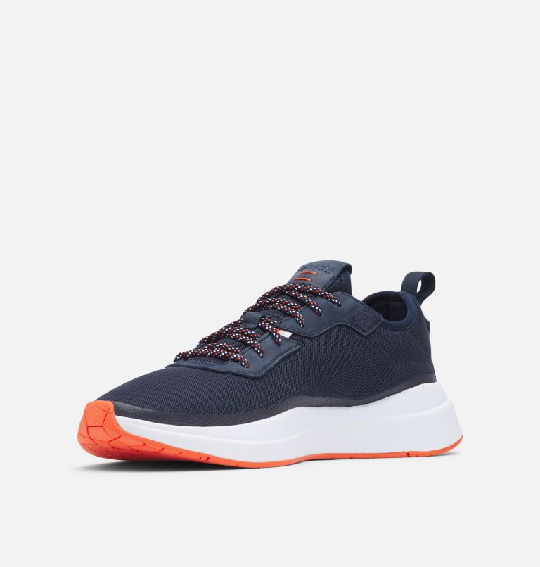 LOW DRAG™ PFG | 464 | 9.5 Men's PFG Low Drag™ Shoe, Collegiate Navy, Tangy Orange