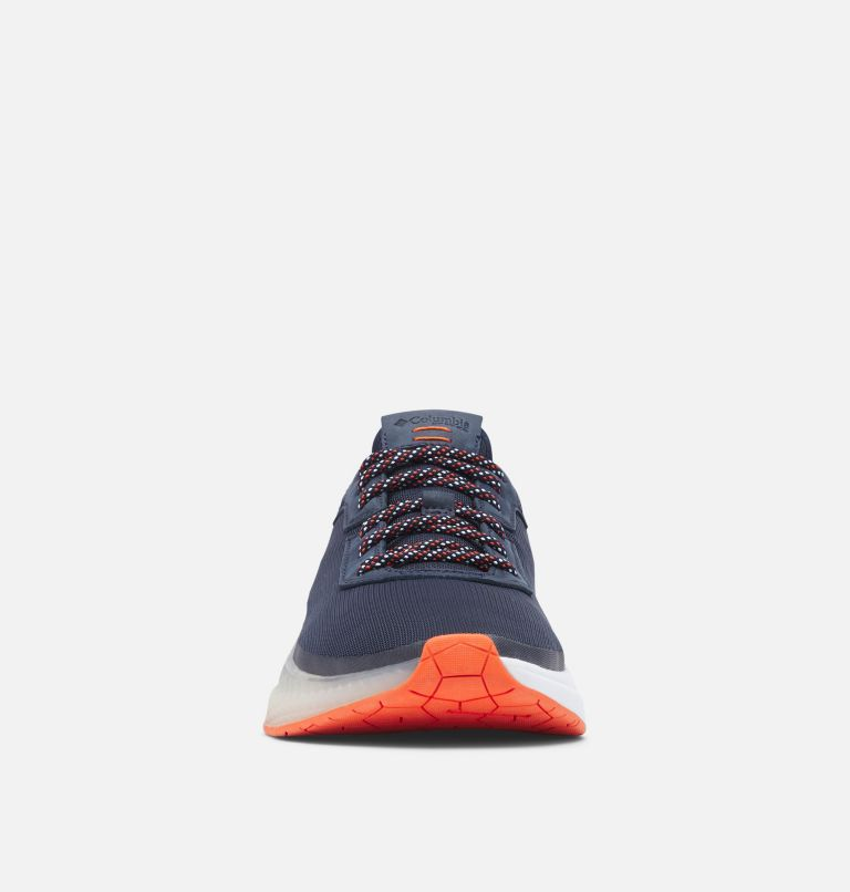 LOW DRAG™ PFG | 464 | 16 Men's PFG Low Drag™ Shoe, Collegiate Navy, Tangy Orange, toe