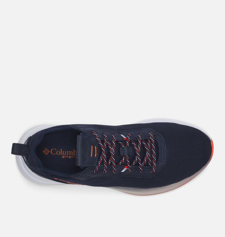 LOW DRAG™ PFG | 464 | 9.5 Men's PFG Low Drag™ Shoe, Collegiate Navy, Tangy Orange, top