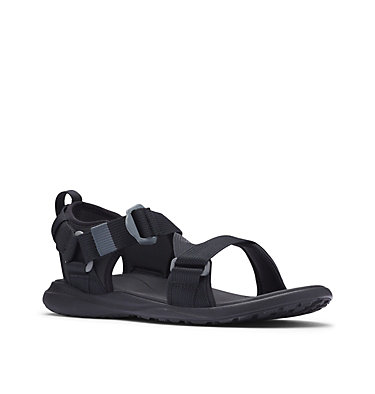 Men's Columbia™ Sandal COLUMBIA™ SANDAL | 403 | 8, Black, Red Element, 3/4 front